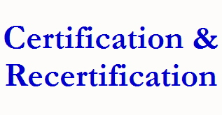 Certification &